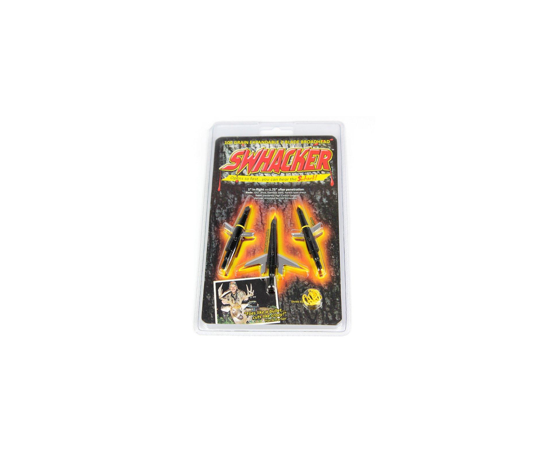 Ponteira Swhacker Rosqueável 2 Lâminas - Cartela Com 3 Ponteiras - Ar Mais