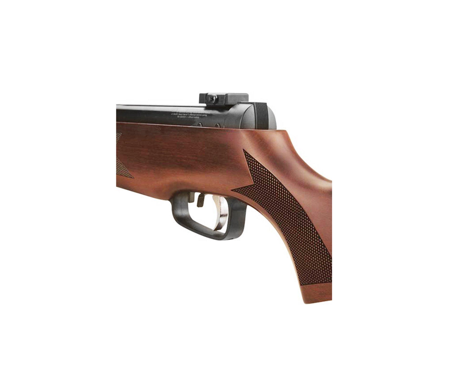 """Carabina De Pressão Ar1000 Cal 5,5mm Com Pistão Pneumático 50 Kg - Capa 52"""" - Sag/rossi"""