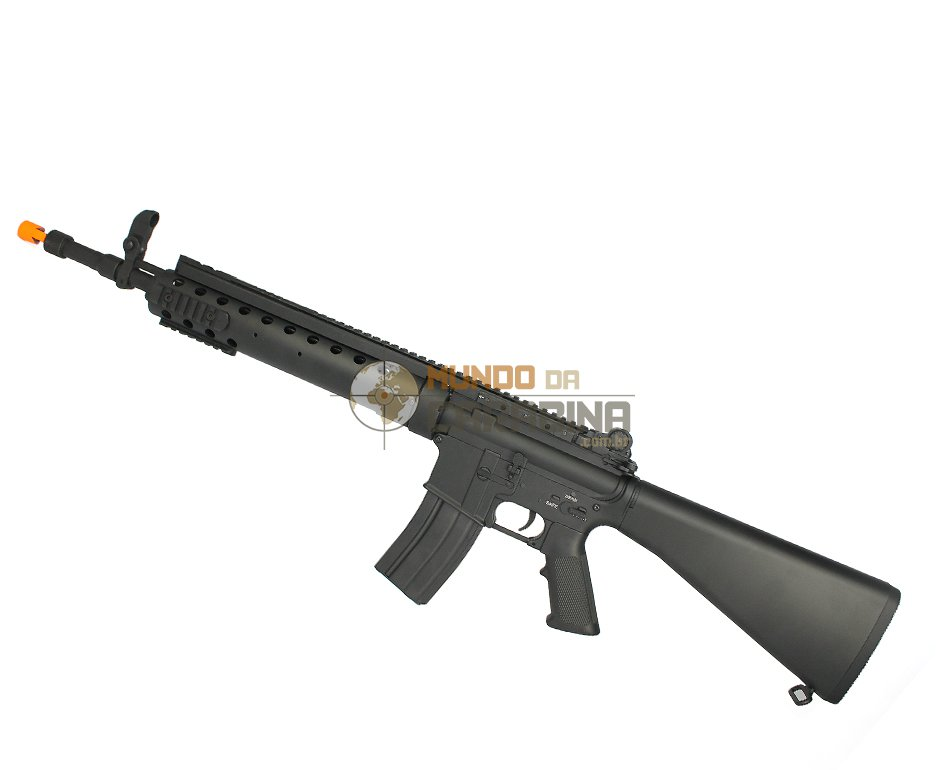 Rifle De Airsoft M16 Tatical Spr Long Version - Full Metal - A&k