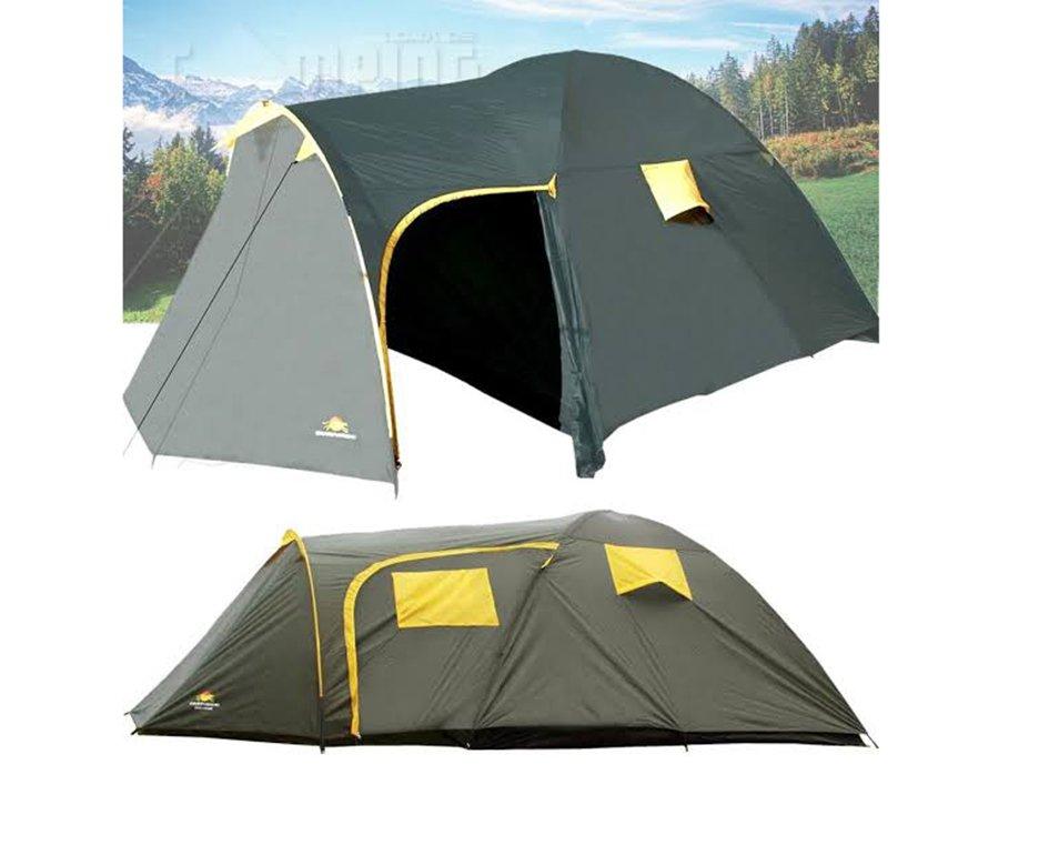 Barraca Camping Family Zeus 5 Pessoas - Guepardo