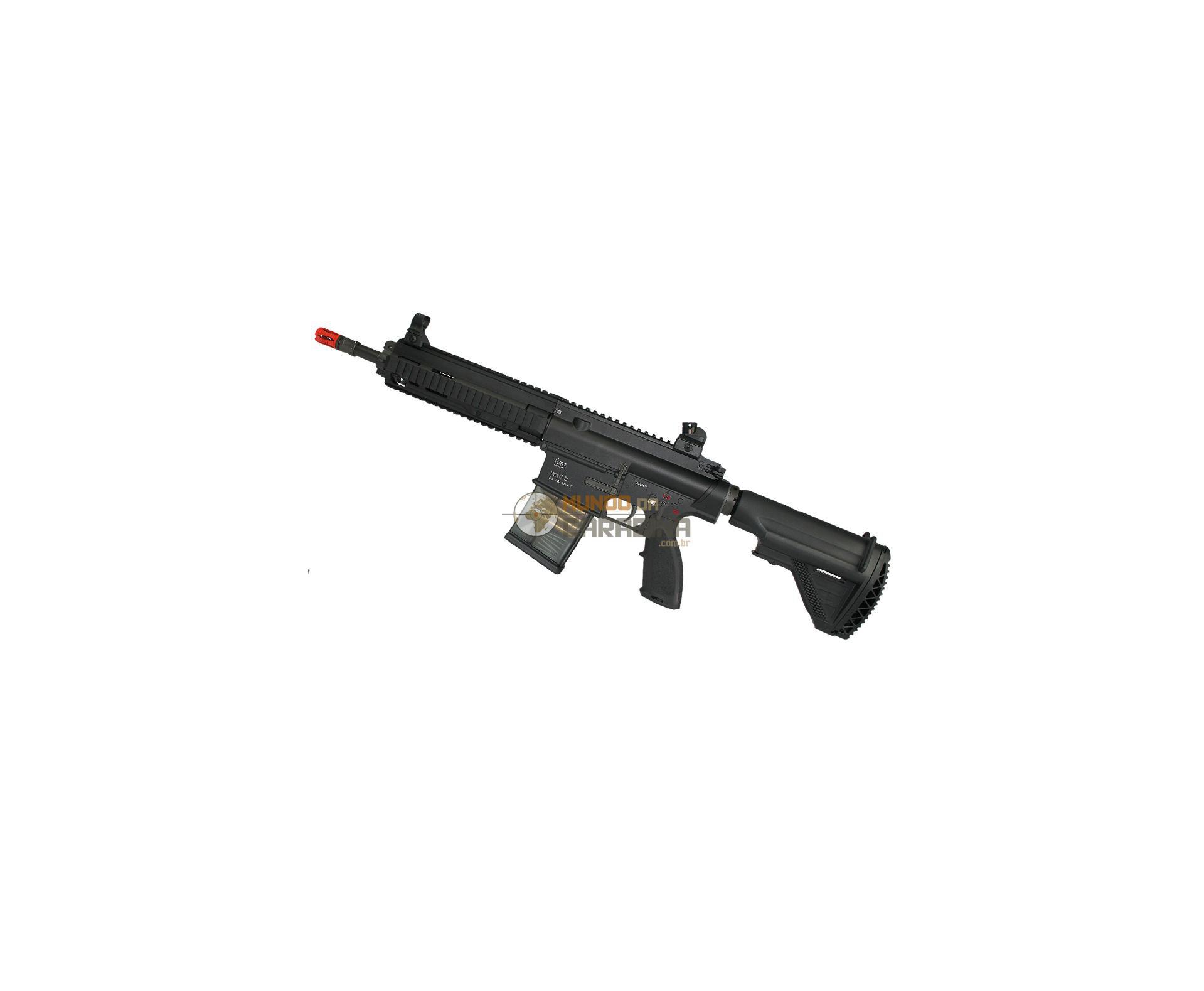 Rifle De Airsoft Hk 417d Aeg Full Metal 6mm - Hk Vfc