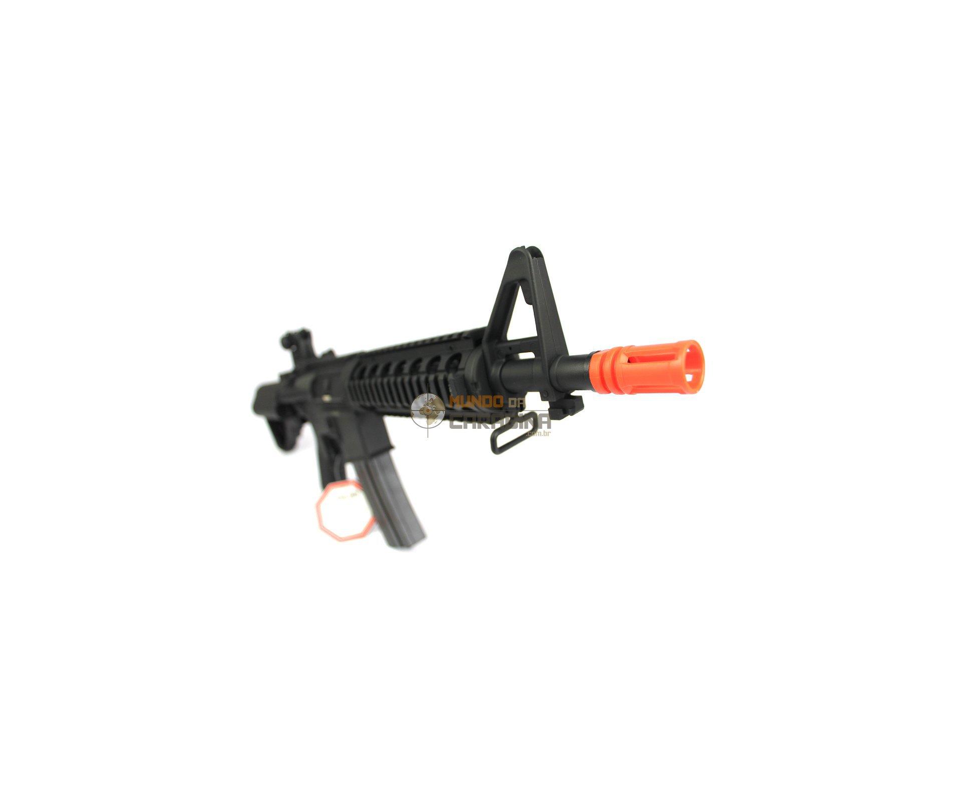 Rifle De Airsoft M4 Ris Cqb Semi/metal Aeg- Cal 6mm - A&k