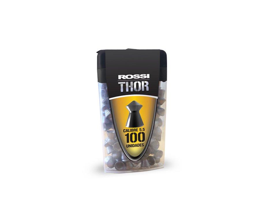 Chumbinho Thor Calibre 5,5 Mm - 100 Unidades - Rossi
