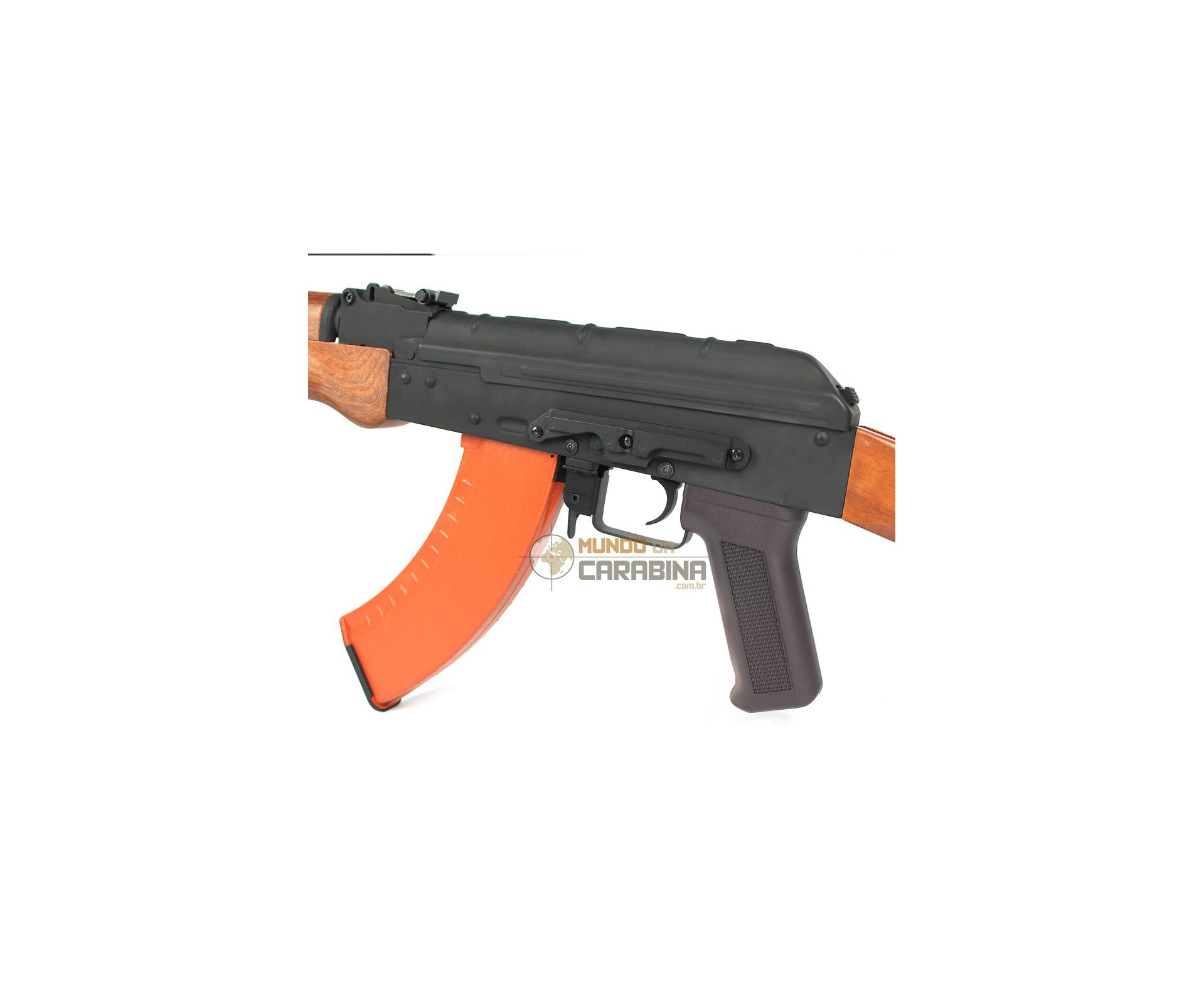 Rifle De Airsoft Akm47 Full Metal Aeg - Cal 6mm - Cyma