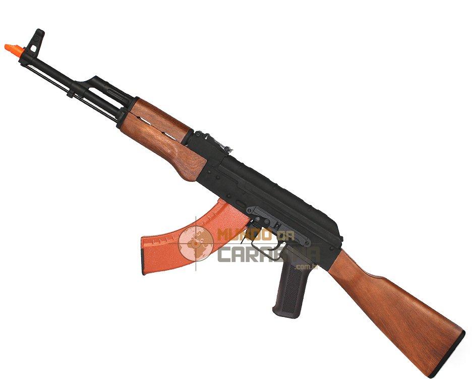 Rifle De Airsoft Akm47 Full Metal Aeg - Cal 6mm - Cyma