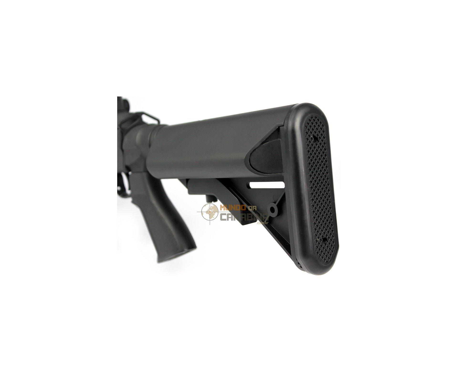 Rifle De Airsoft M14 Ebr Full Metal Aeg Cal 6,0mm -cyma