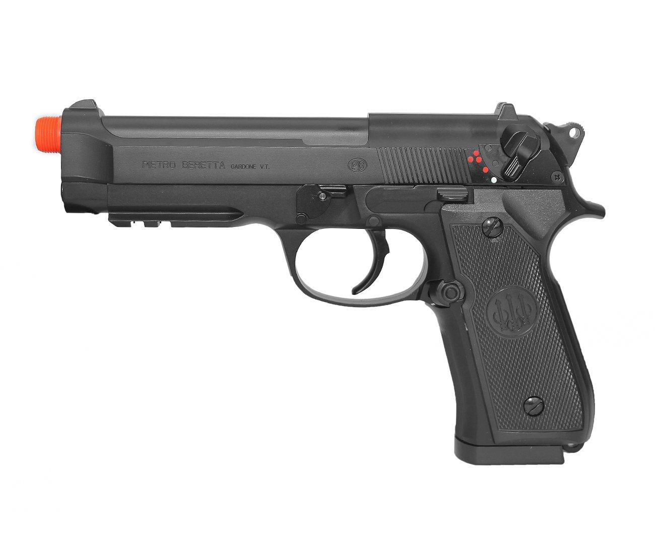 Pistola De Airsoft Beretta 92a1 Semi/metal Elétrica - Cal 6mm Umarex