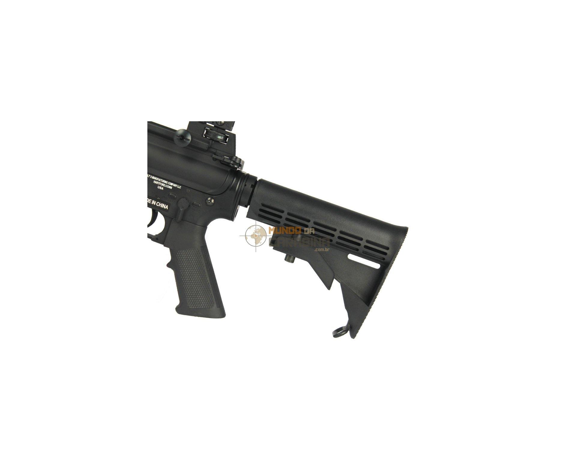 Rifle De Airsoft Colt M4a1 - Full Metal - Calibre 6,0 Mm - Cybergun