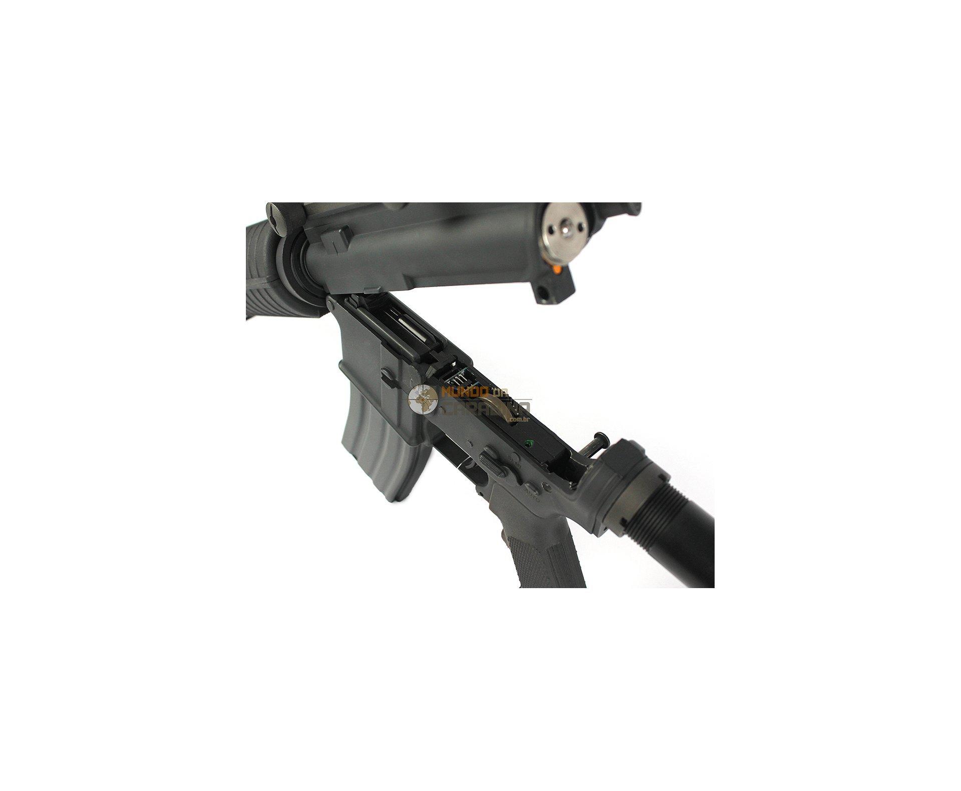 Rifle De Airsoft M4a1 Full Metal Stw Cal 6mm - Bivolt - A&k