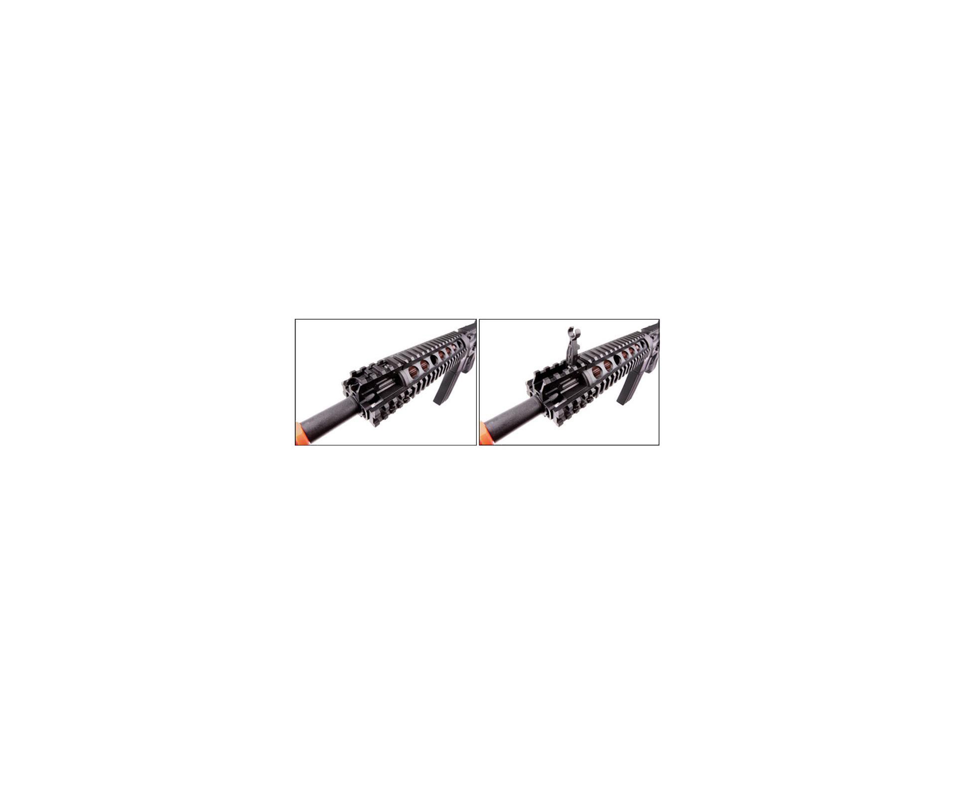 Rifle De Airsoft M4 Cqb - Semi/metal - Calibre 6 Mm Bbs - Crosman (game Face)