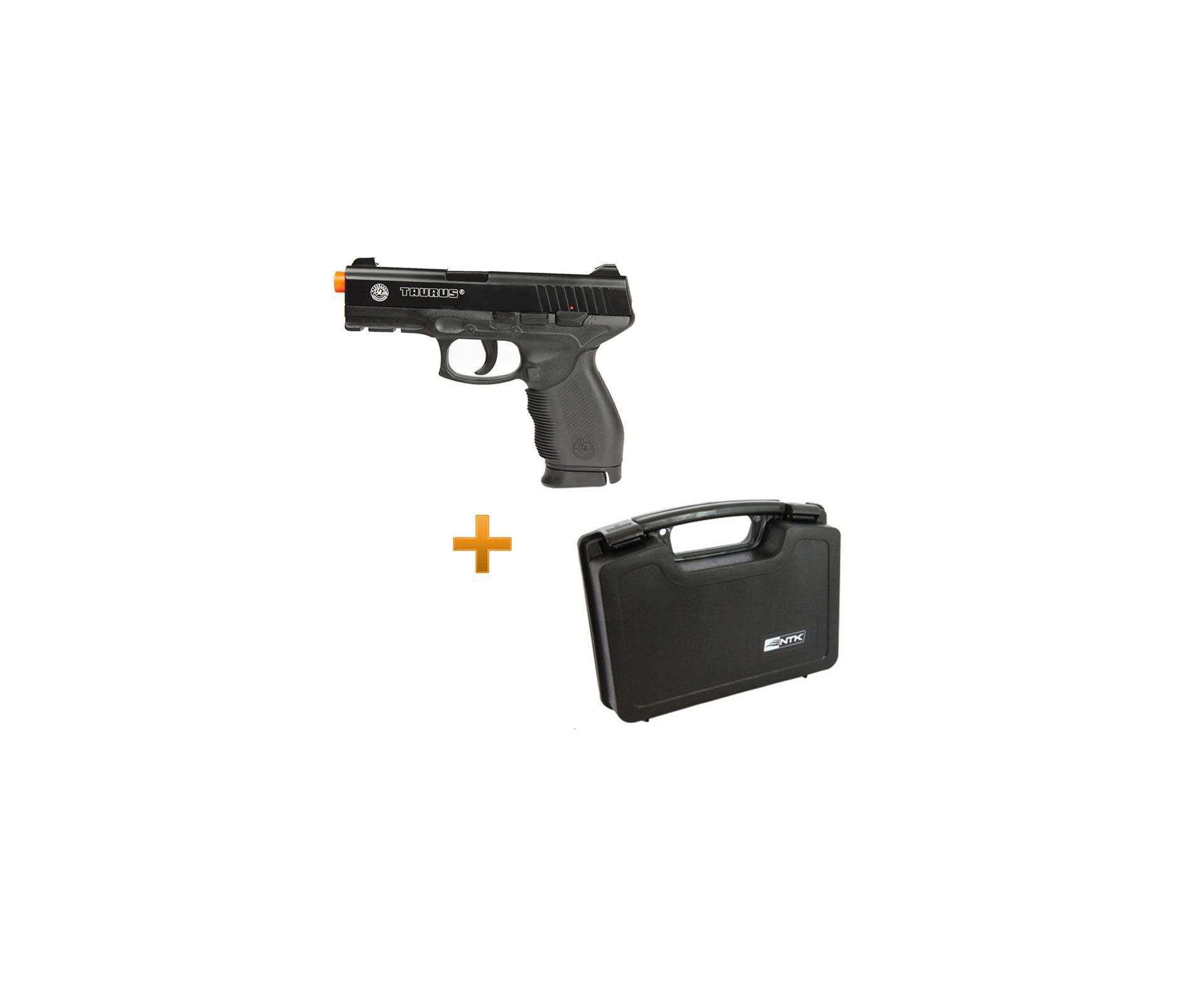 Pistola De Airsoft Taurus 24/7 Spring + Case Nautika