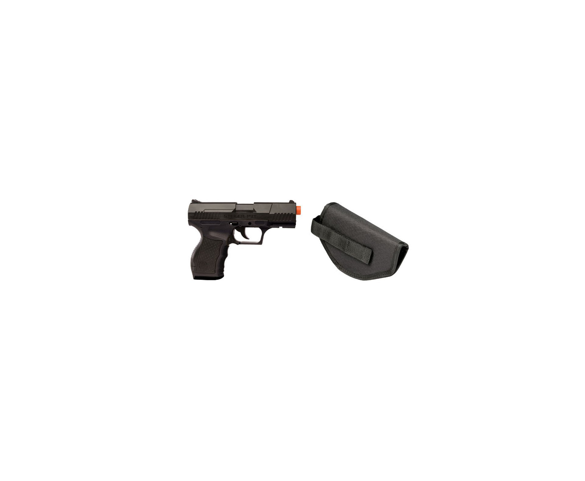Pistola De Airsoft Stinger P9t - Calibre 6 Mm - Crosman