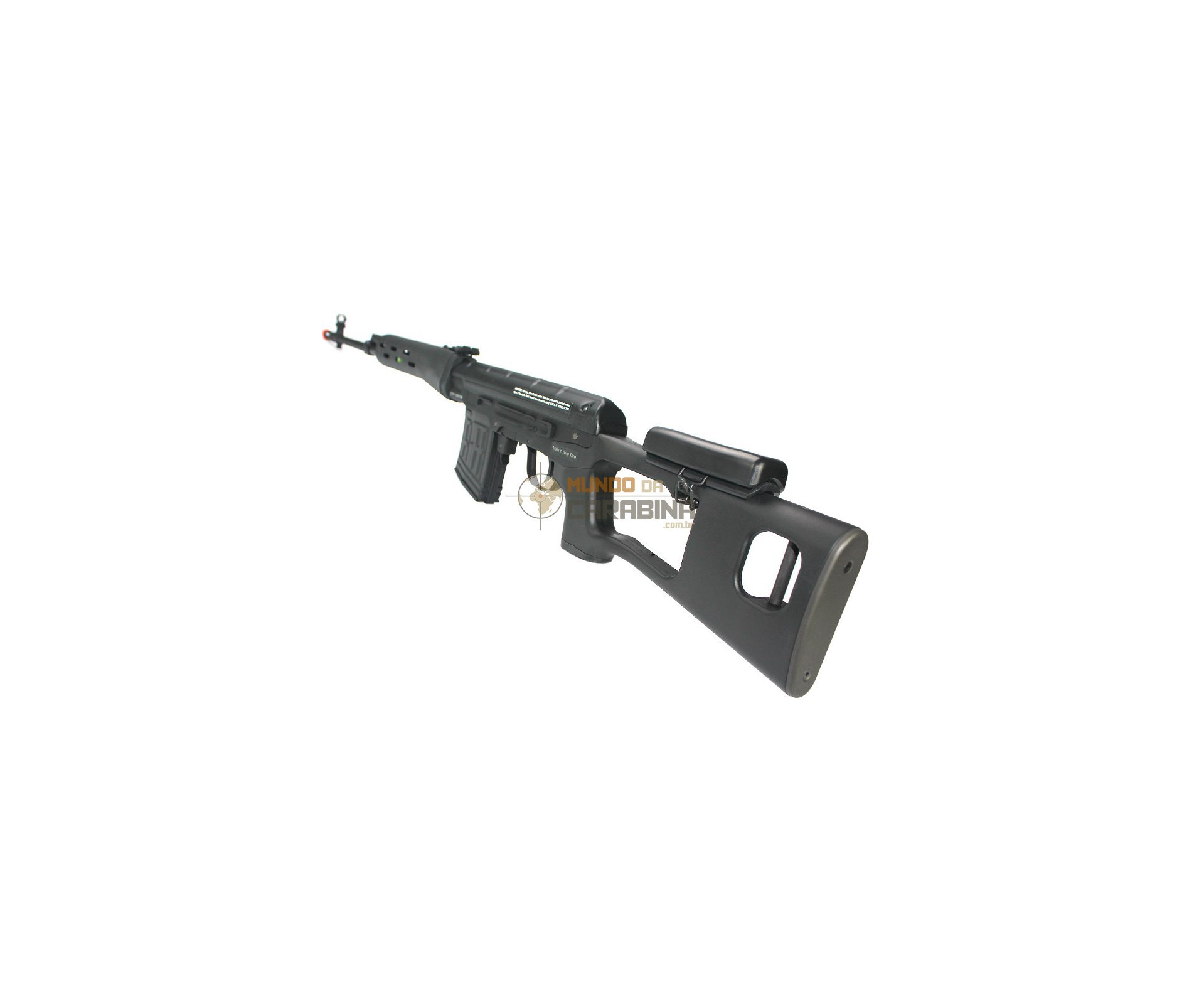 Rifle De Airsoft Kalashnikov Sniper Svd Cal 6.0mm - Bivolt - King Arms