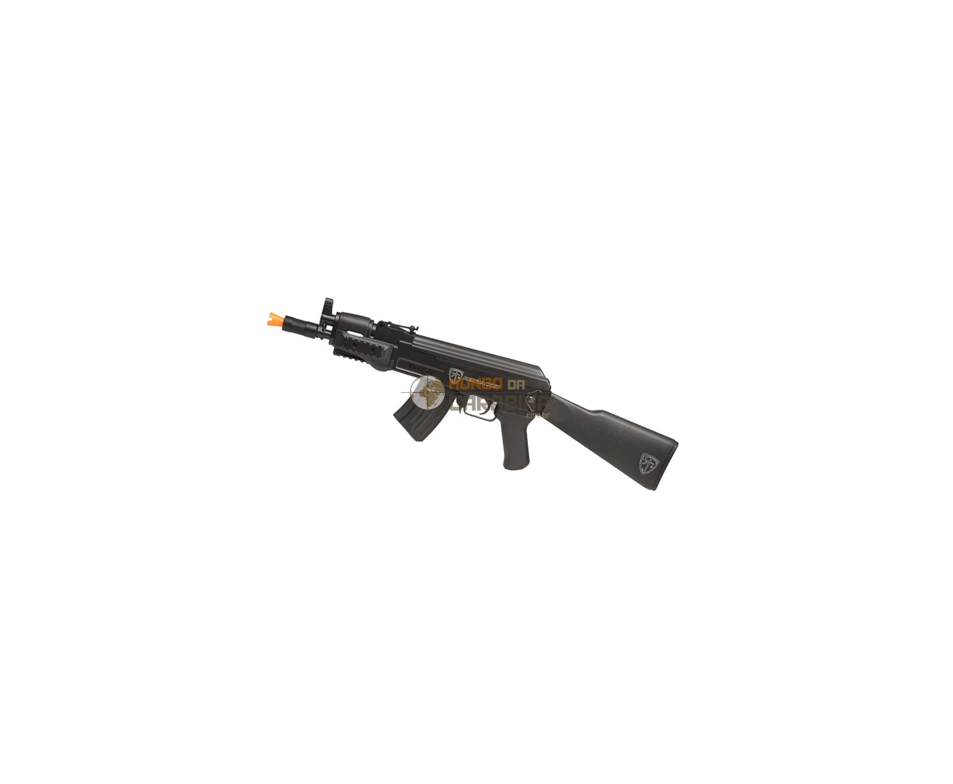 Rifle Airsoft Ak47u Spetsnaz 6,0mm - Red Jacket + 6000 Esferas 0,15g - Umarex