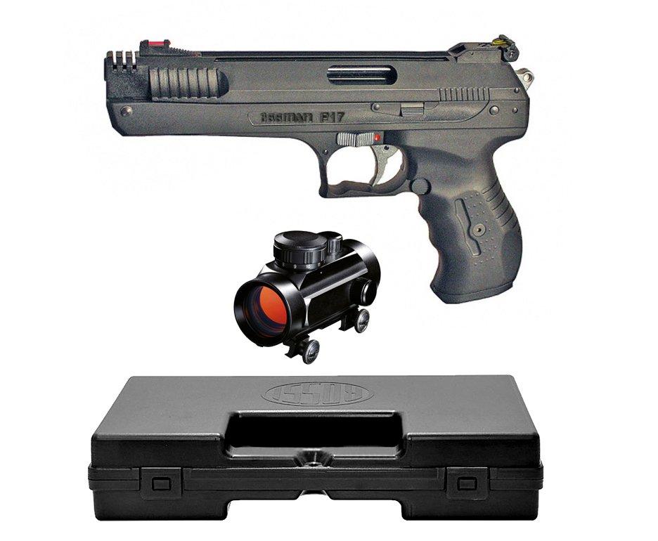 Pistola De Pressão Beeman 2004 P-17 - Cal 4,5mm + Case Deluxe + Red Dot 1x30