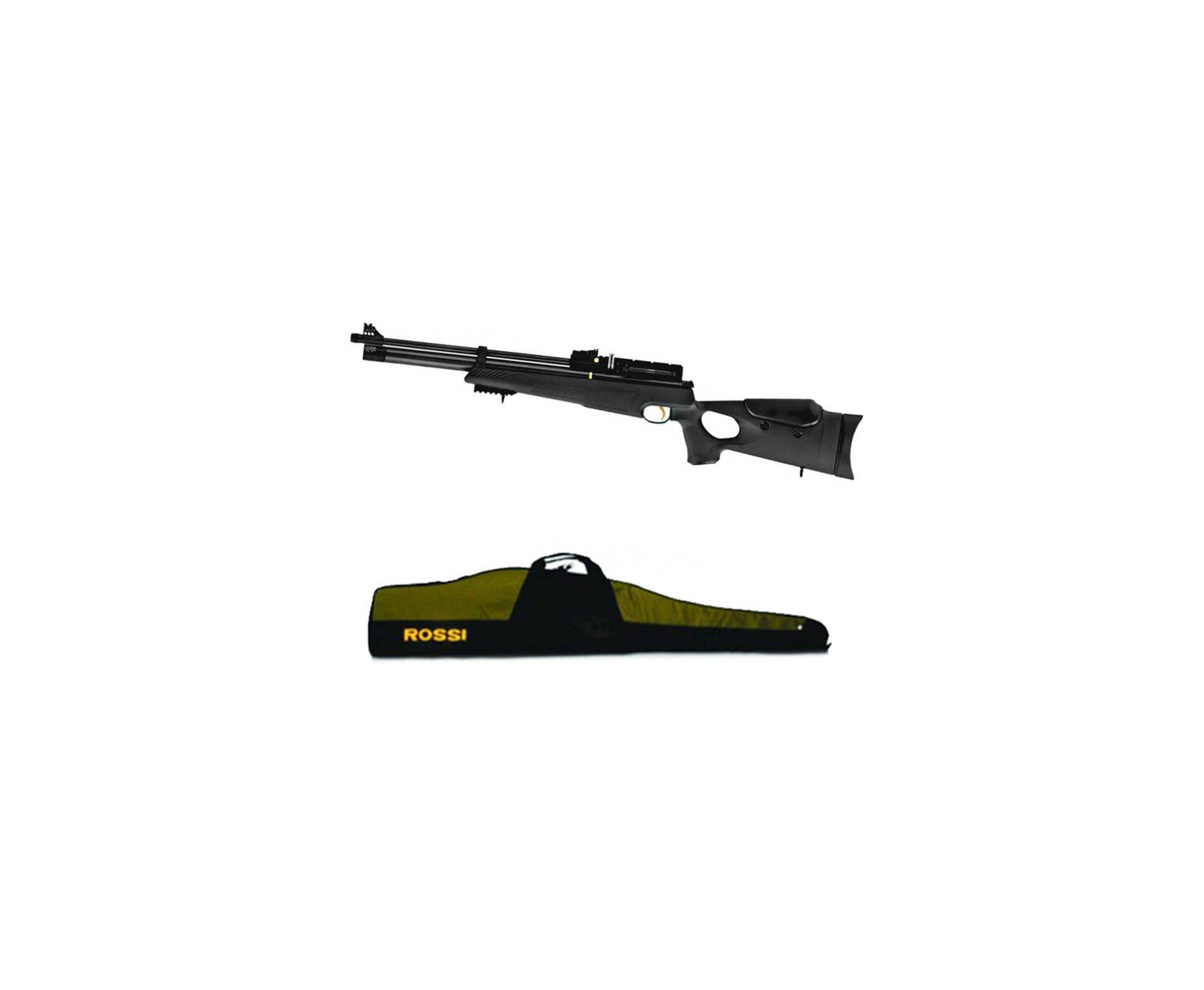 Carabina Pcp Hatsan At44-10 5,5 + Capa + 02 Cilindro Extra + Bomba Hand Pump