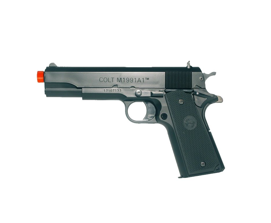 Pistola De Airsoft Colt M1991-a1 - Mola - Plast Bb 6mm