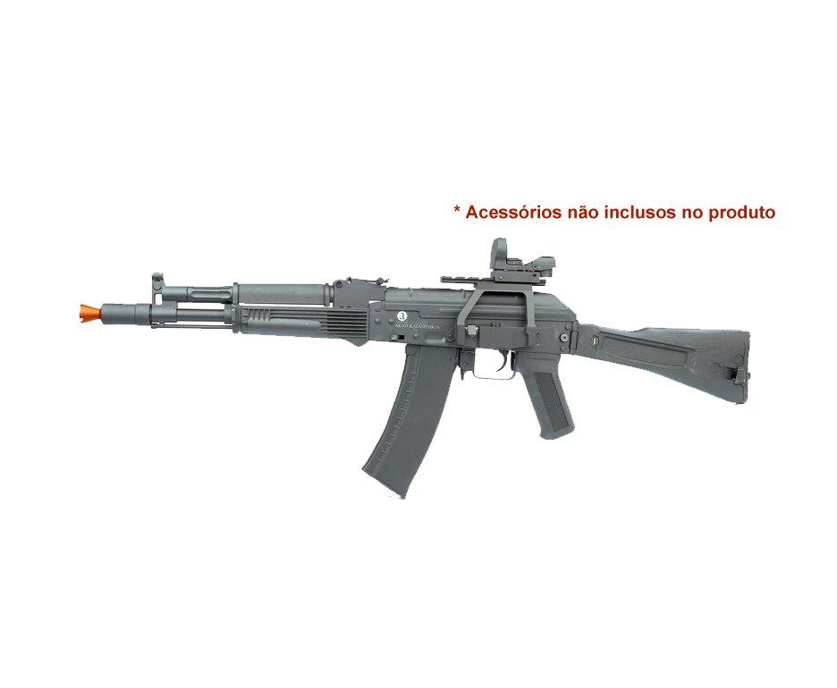Rifle De Airsoft Kalashnikov Ak105 - Elétrico - Full Metal - Esfera Plástica Bb 6mm