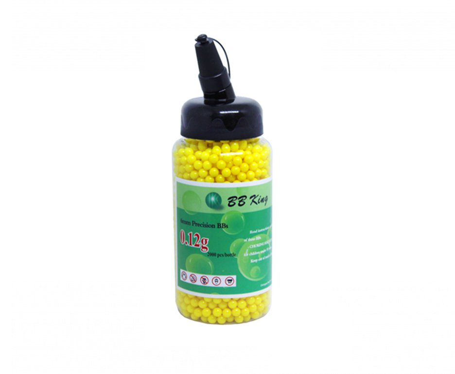 Esfera Plástica Bb Calibre  6mm - 0,12 G - 2000 Unidades