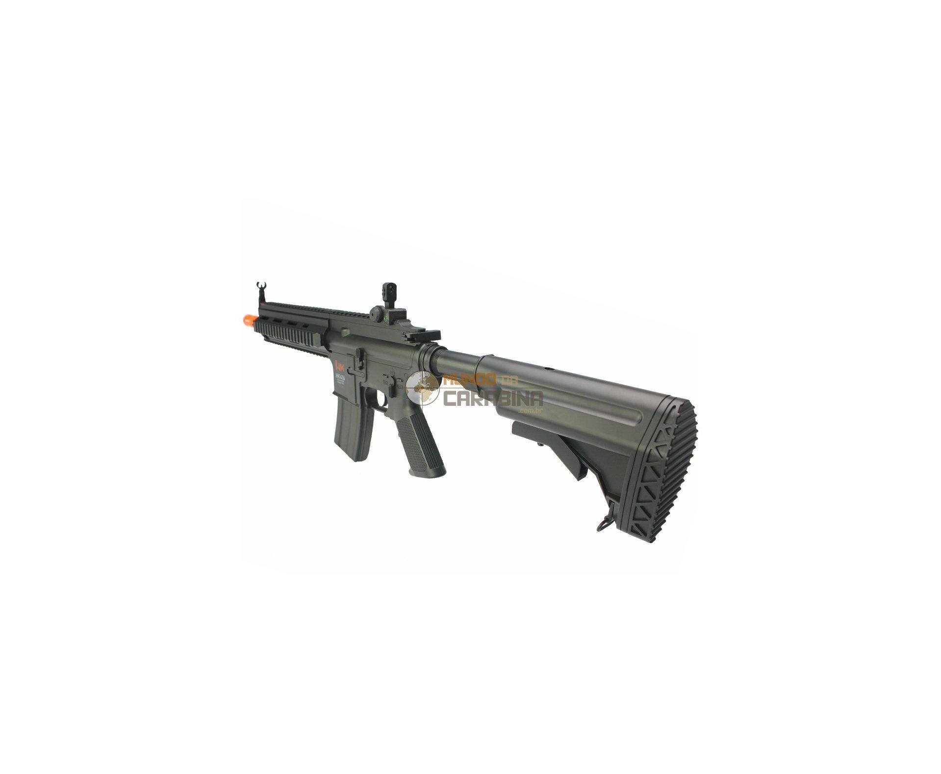 Rifle De Airsoft H&k Hk 416 Cqb Bivolt - Cal 6.0mm - Umarex