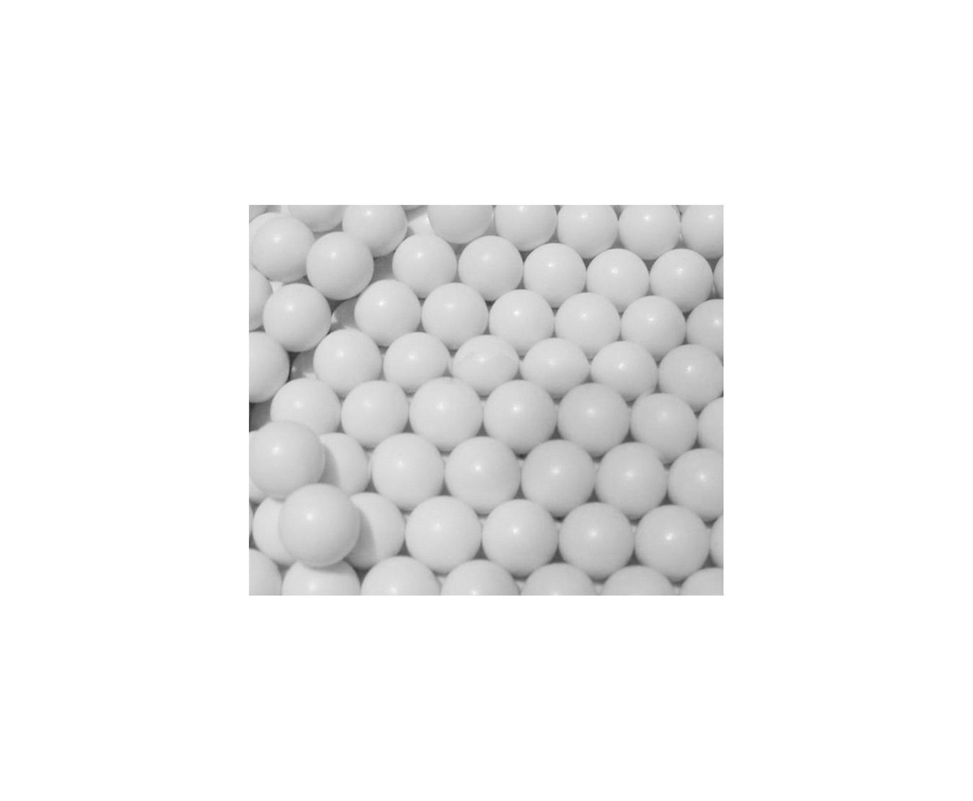 Esfera Plástica Bb 0,20 Branca - 5.000 Unid. - King Arms