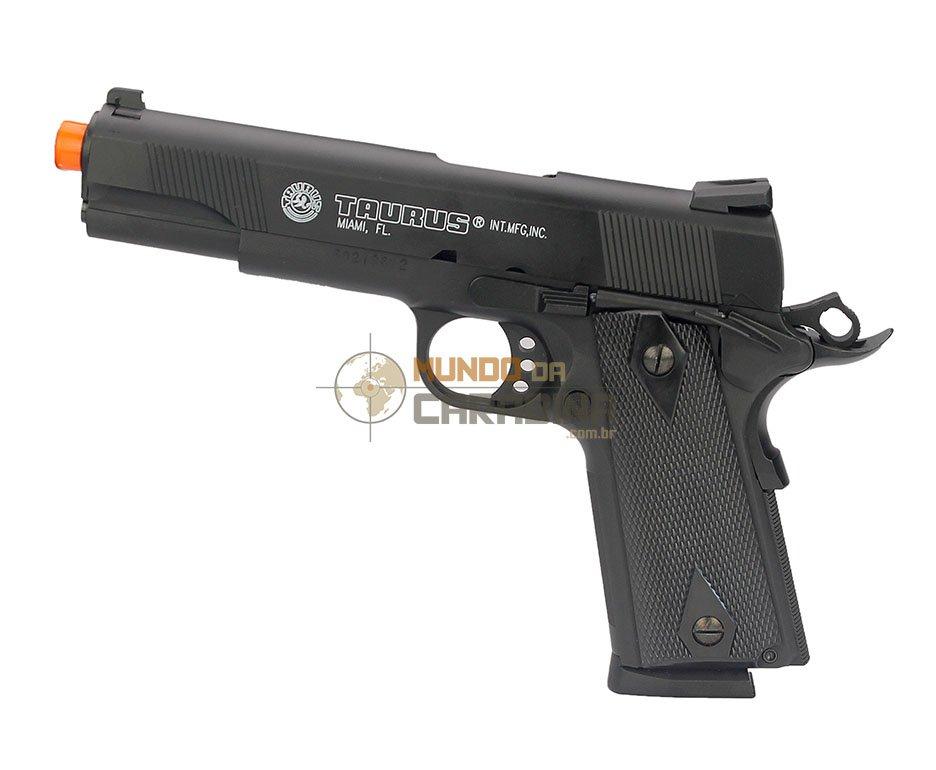 Pistola De Airsoft Pt1911 Semi Metal - Cybergun