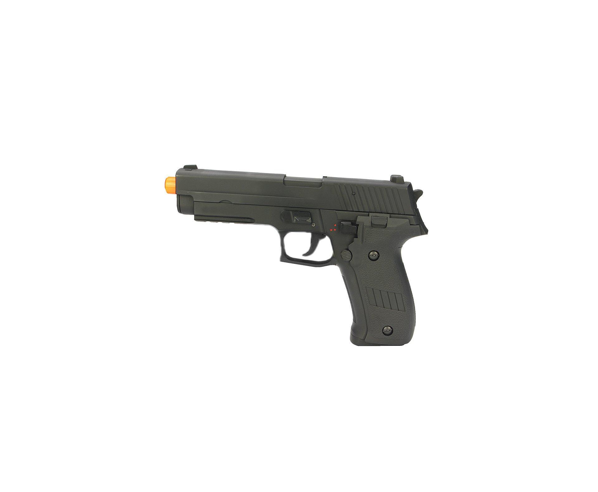 Pistola De Airsoft Sig Sauer P226 - Full Metal Eletrica - Cal 6,0 Mm - Bivolt- Cyma