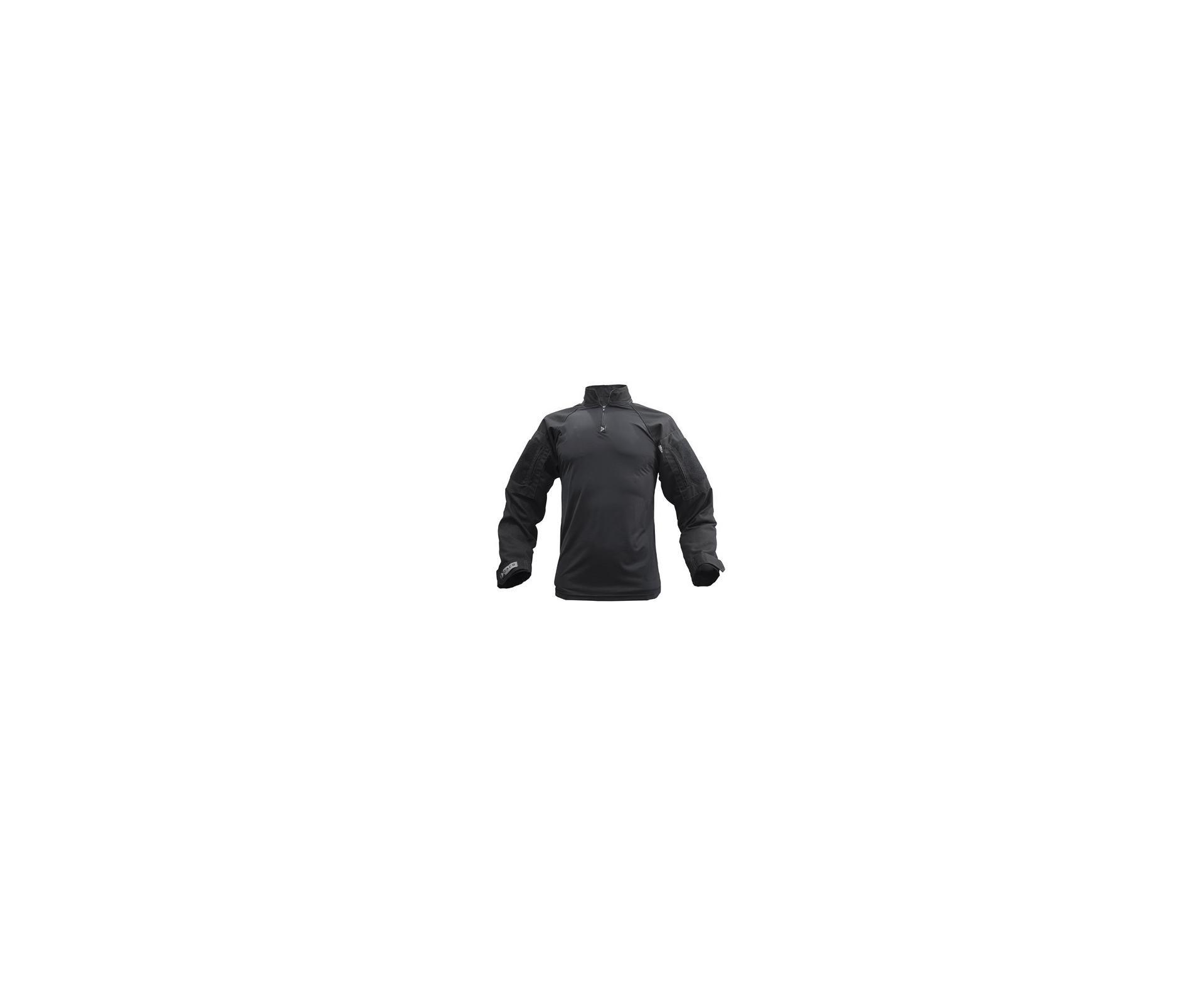 Camisa Tatica Combat Shirt Dacs - Preto