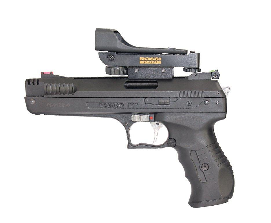 Pistola De Pressão Beeman 2006 P-17 Cal 4,5mm + Red Dot Rossi - Beeman