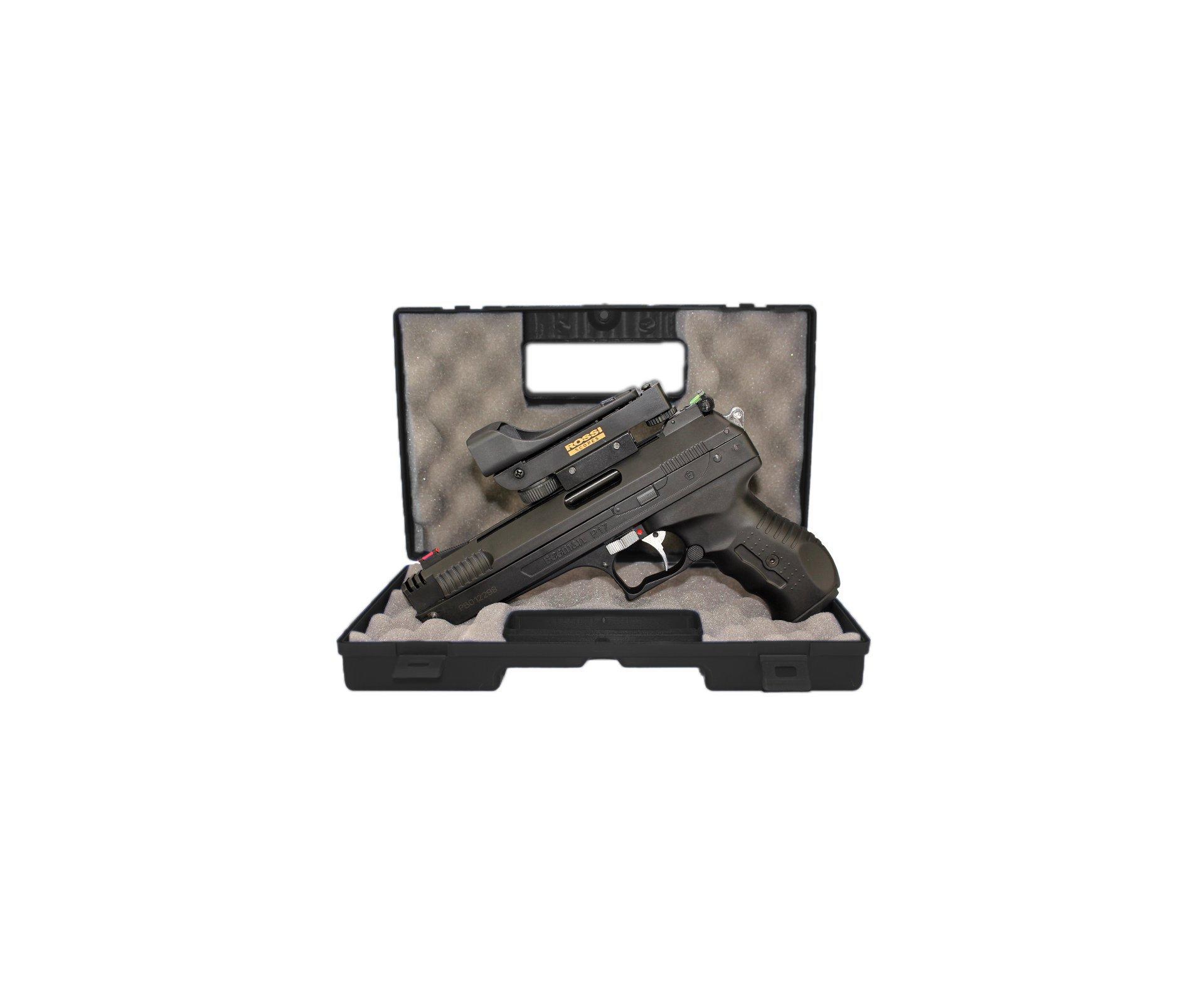 Pistola De Pressão Beeman 2006 P-17 Cal 4,5mm + Red Dot Rossi + Case Deluxe