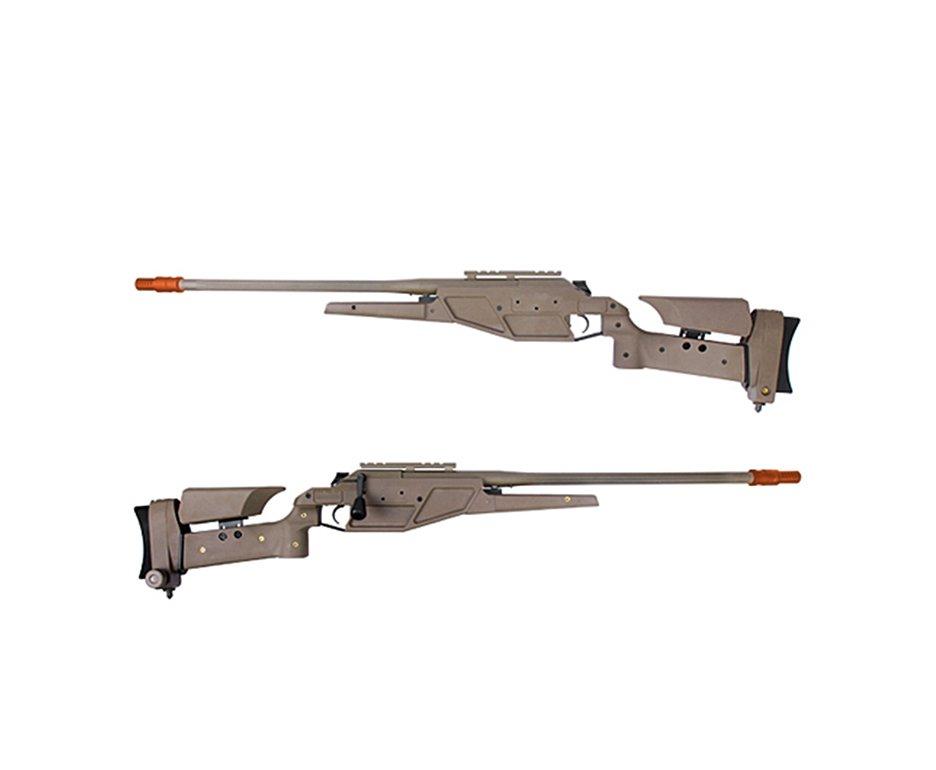 Rifle De Airsoft Sniper Blaser R93 Lrs1 Tan Elite - Cal 6.0mm - King Arms