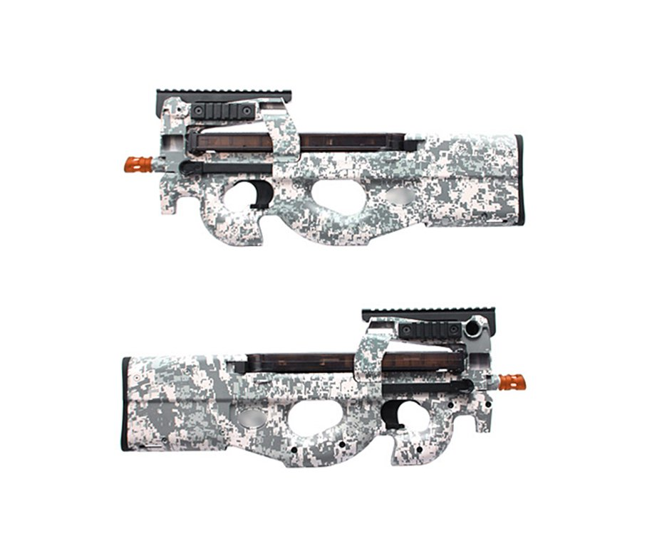 Rifle De Airsoft Fn P90 Tactical Acu - Cal 6.0mm - King Arms