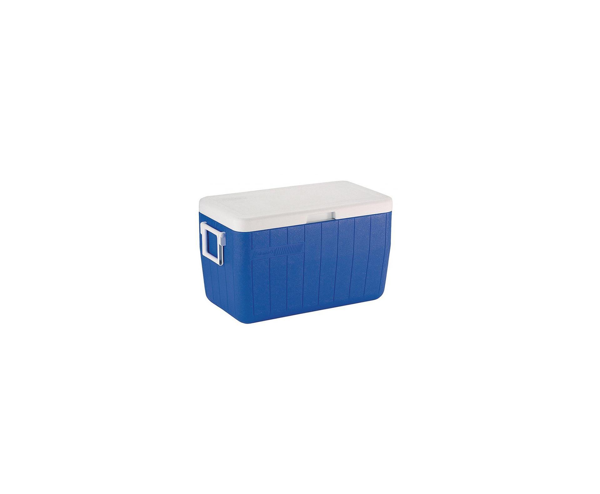 Caixa Térmica 48qt 45,4 Litros - Azul - Coleman