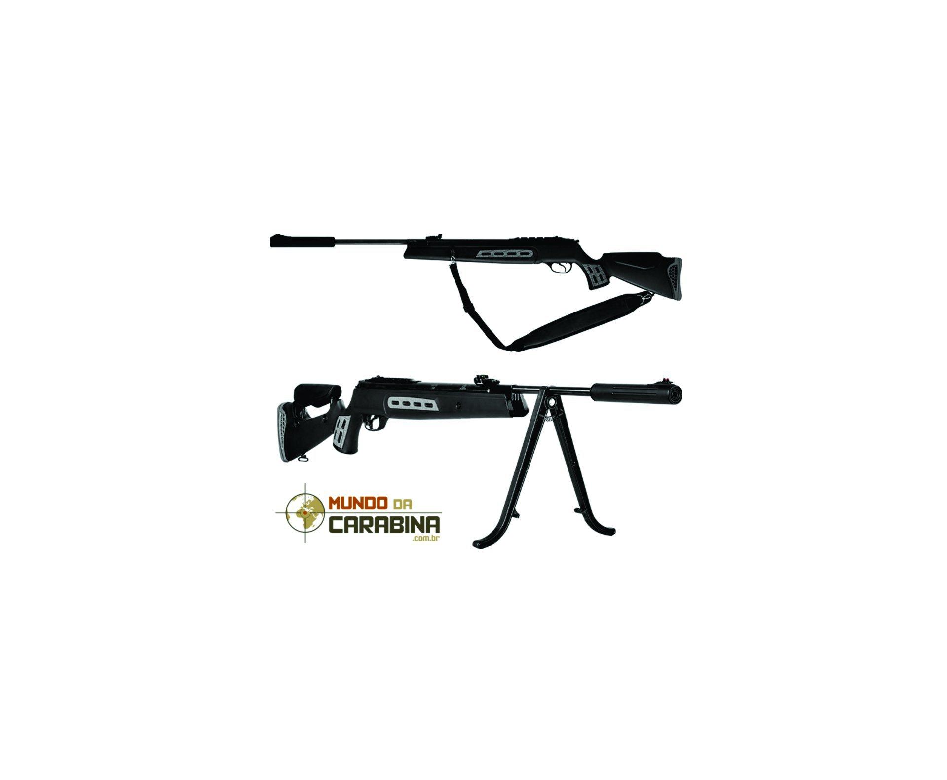 Carabina De Pressão Hatsan Ht 125 Sniper - Calibre 5,5 Mm - Sistema Sas