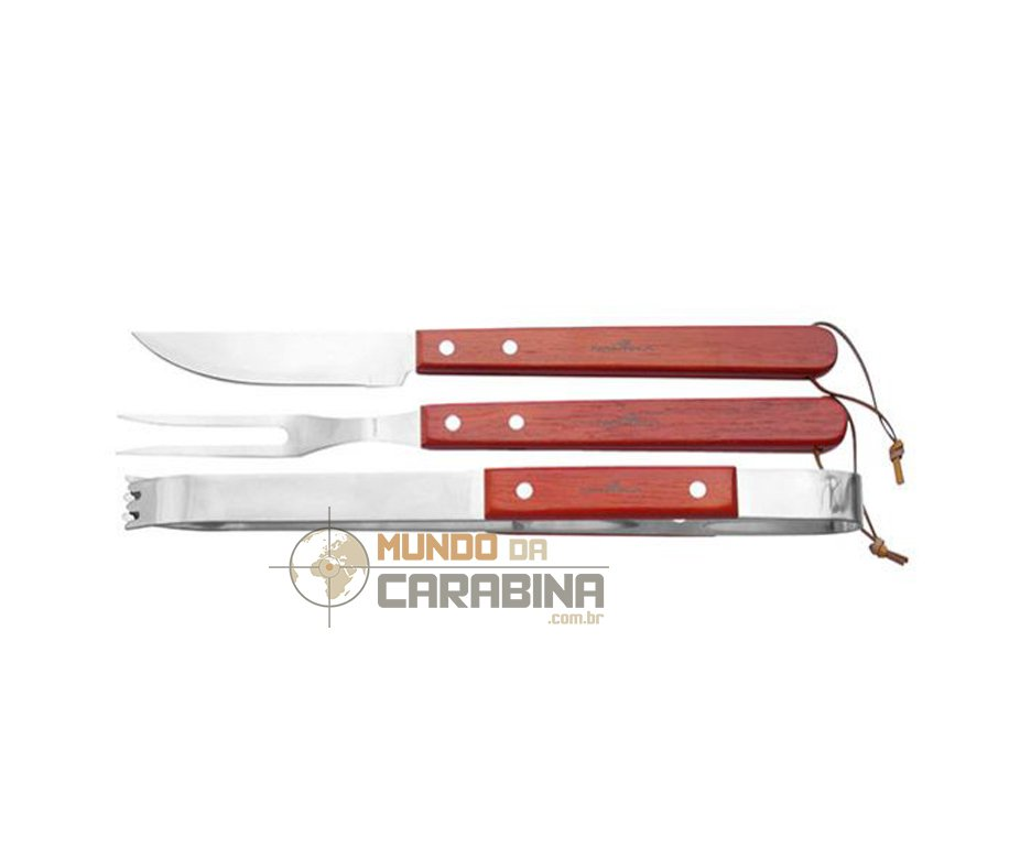 Conjunto Para Churrasco Fork - Nautika