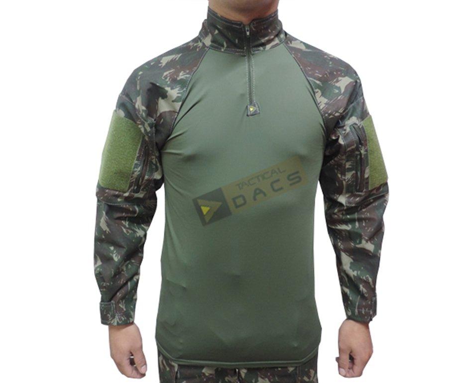 Camisa Combat Shirt Hrt - Camuflado Eb - Dacs