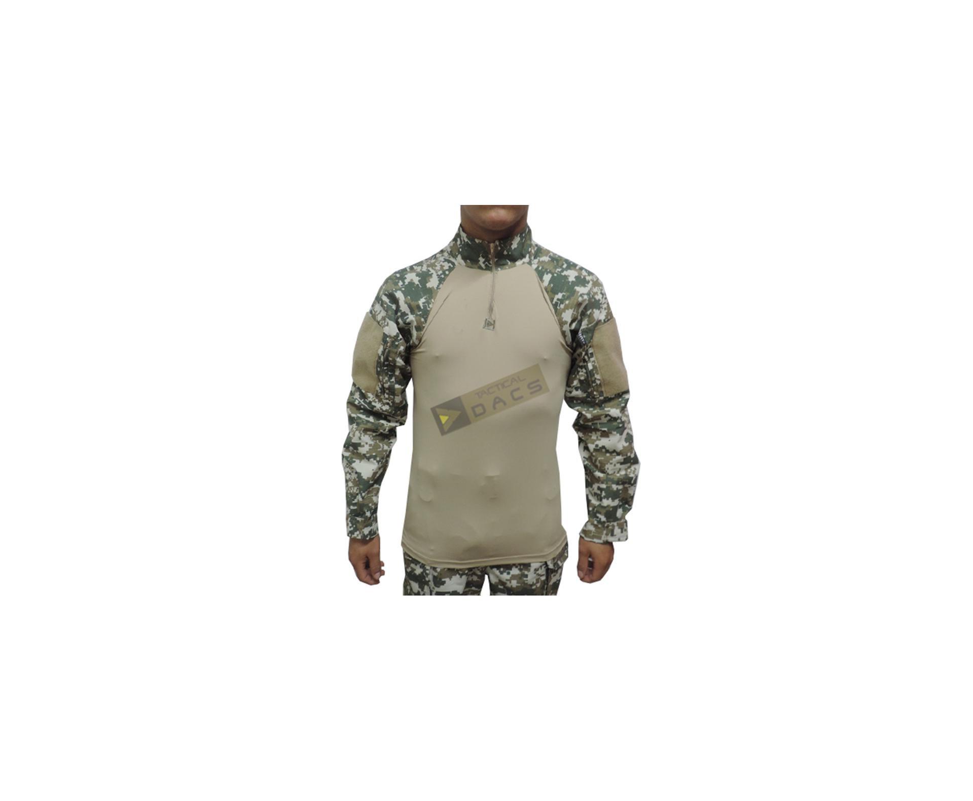 Camisa Combat Shirt Hrt - Digital Cerrado - Dacs