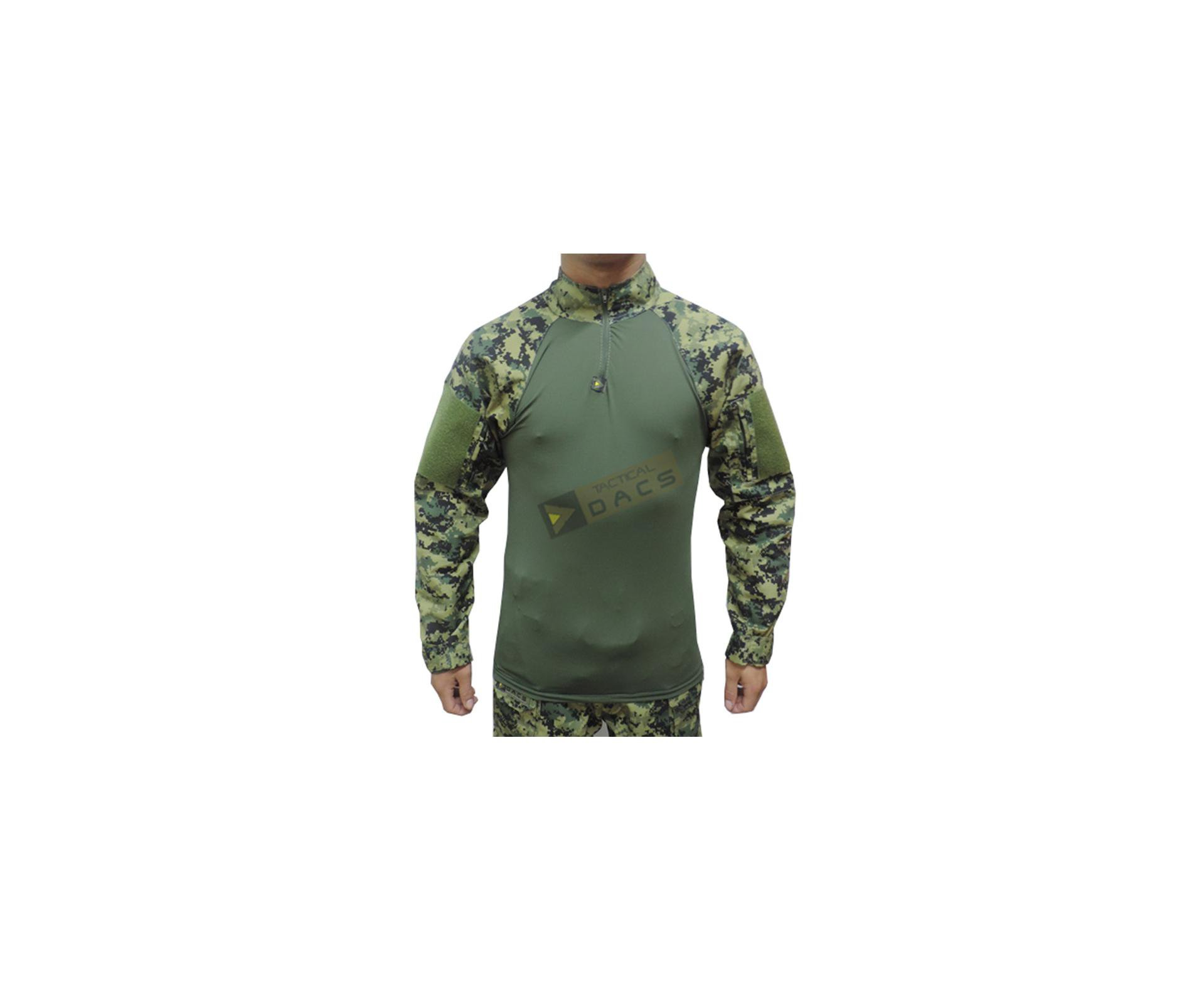 Camisa Combat Shirt Hrt - Digital Serra - Dacs