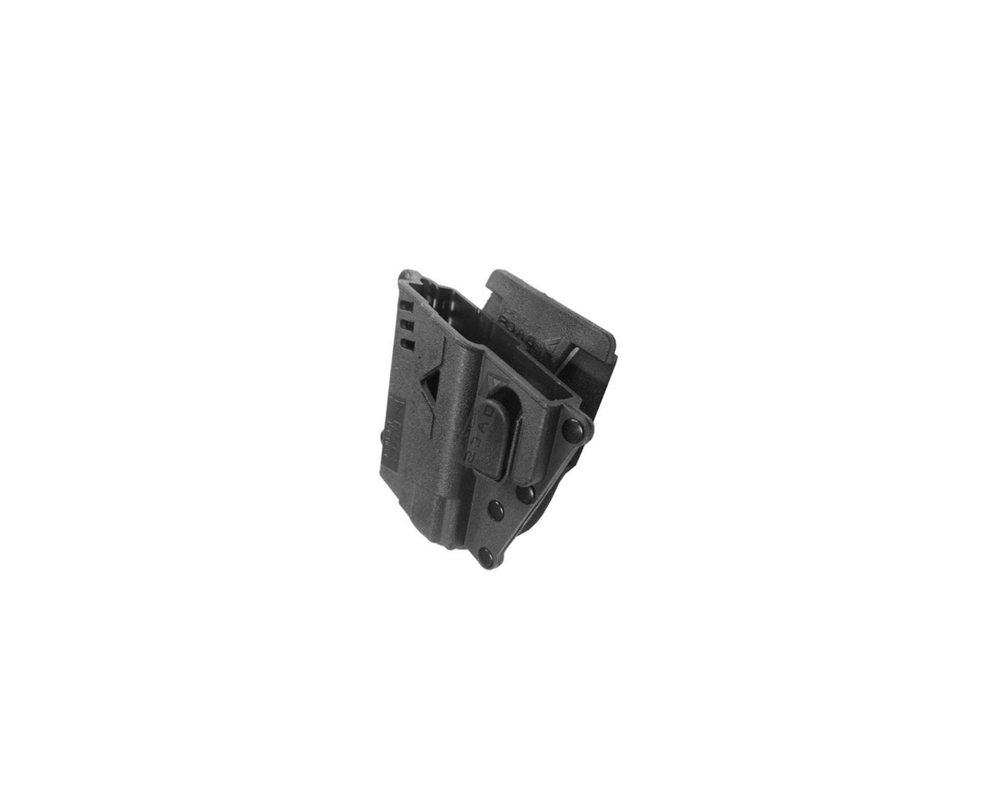 Coldre Em Polimero Universal Taurus - Preto - Canhoto Para Taurus E Glock