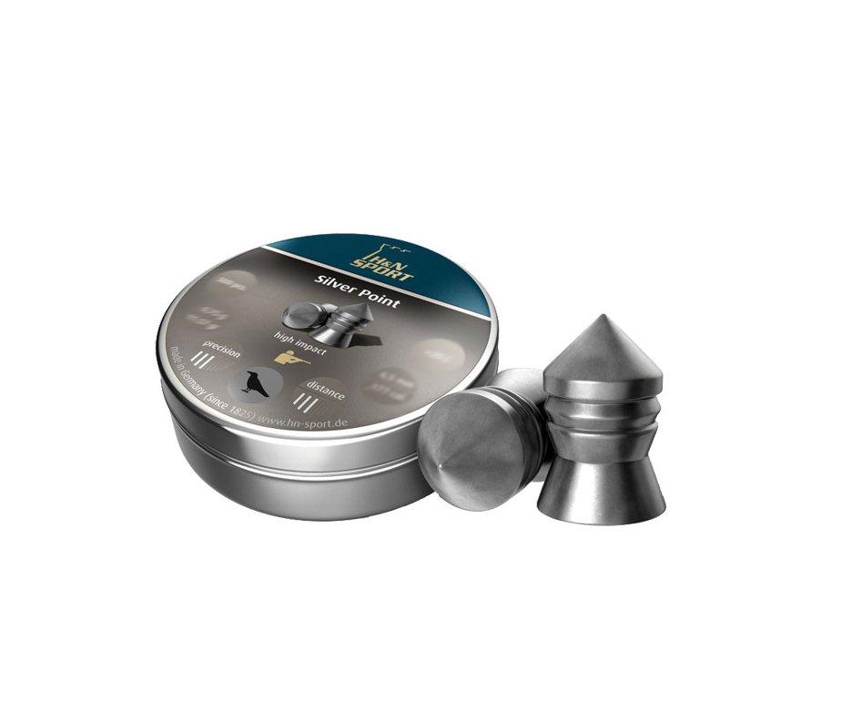 Chumbinho Silver Point Calibre 5,5 Mm - 200 Unidades - H&n