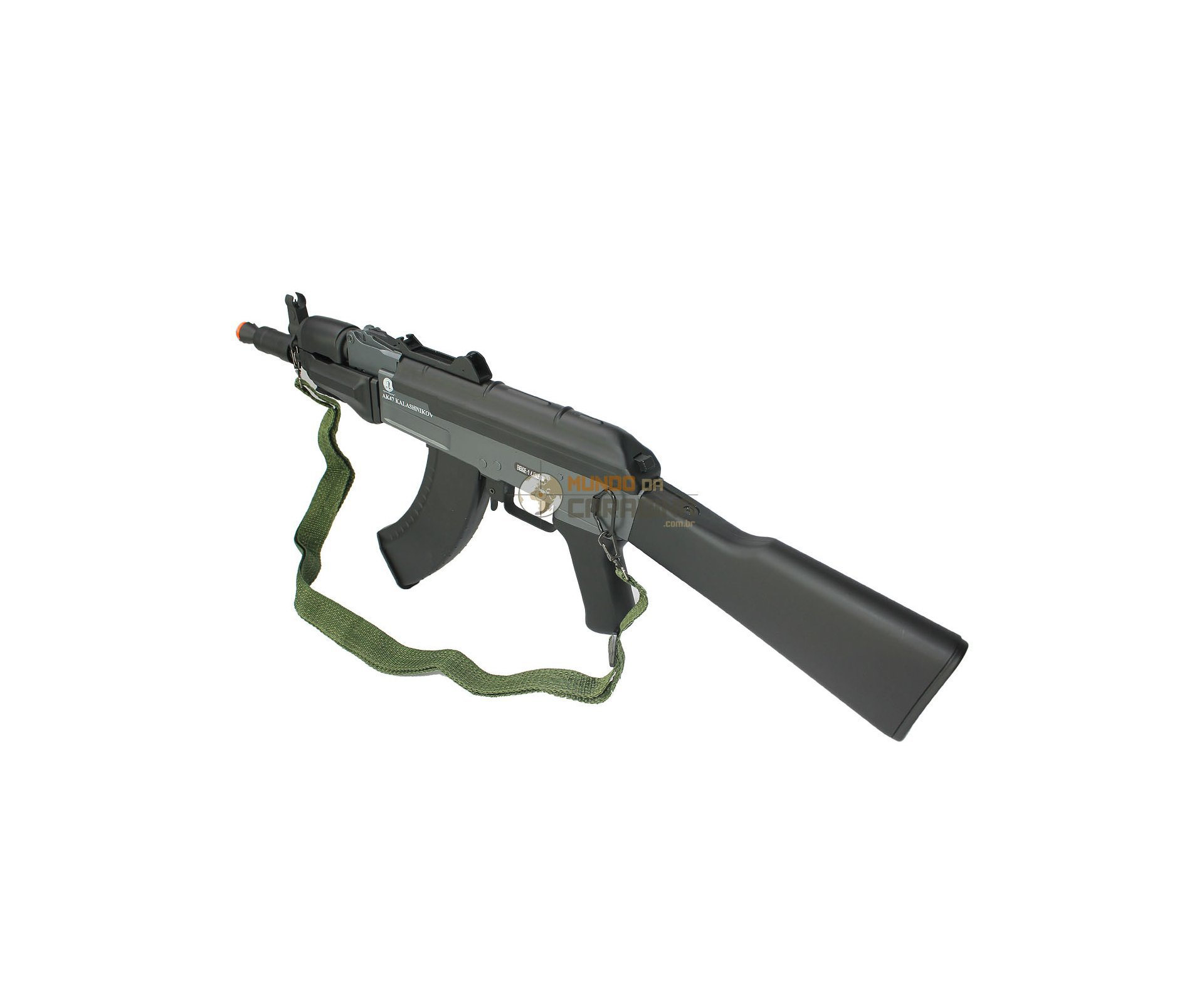 Rifle Airsoft Ak Spetsnaz Full Metal - Calibre 6,0 Mm - Kalashnikov