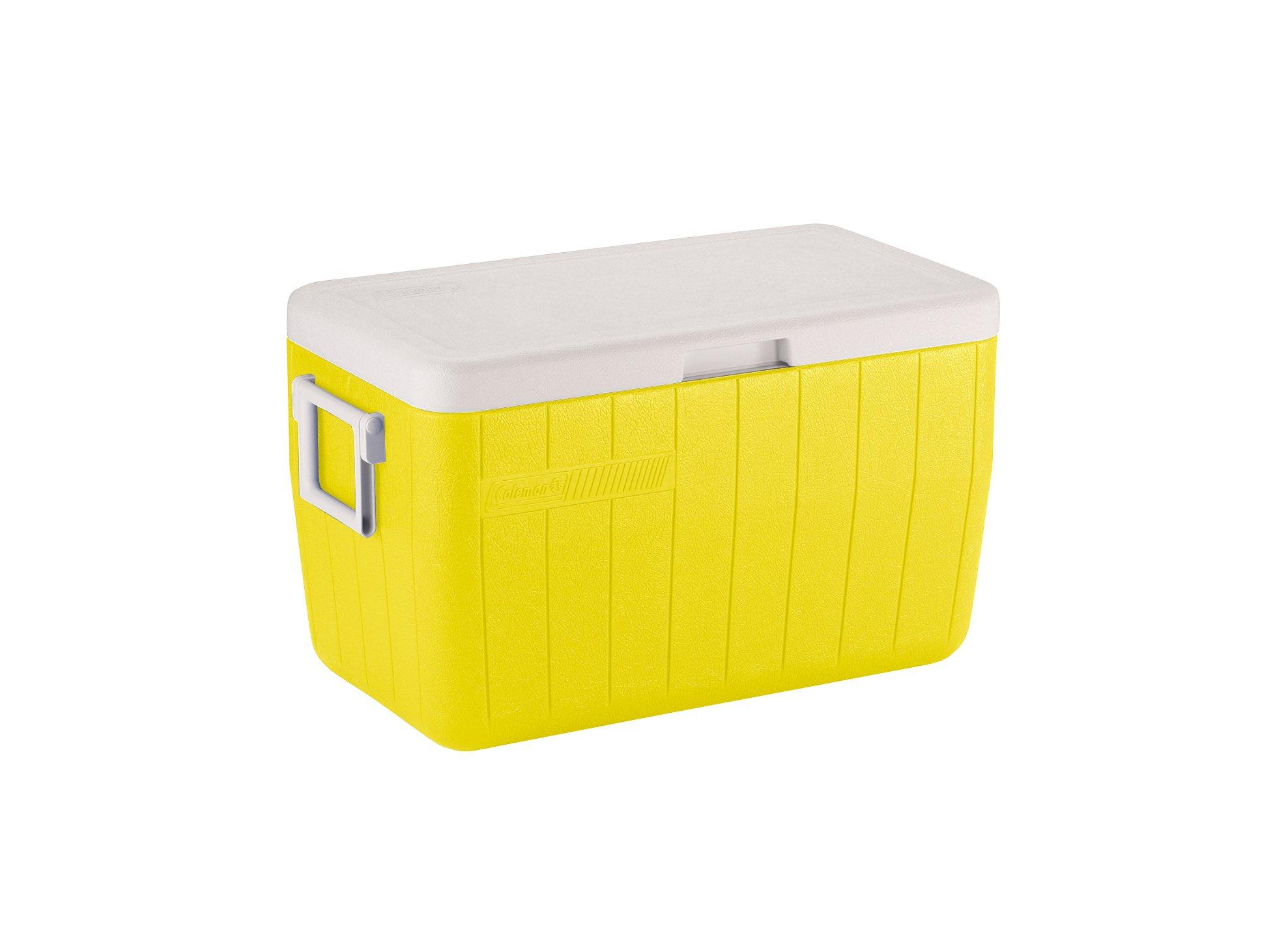 Caixa Térmica 48 Qt / 45l Amarelo Canarias - Coleman