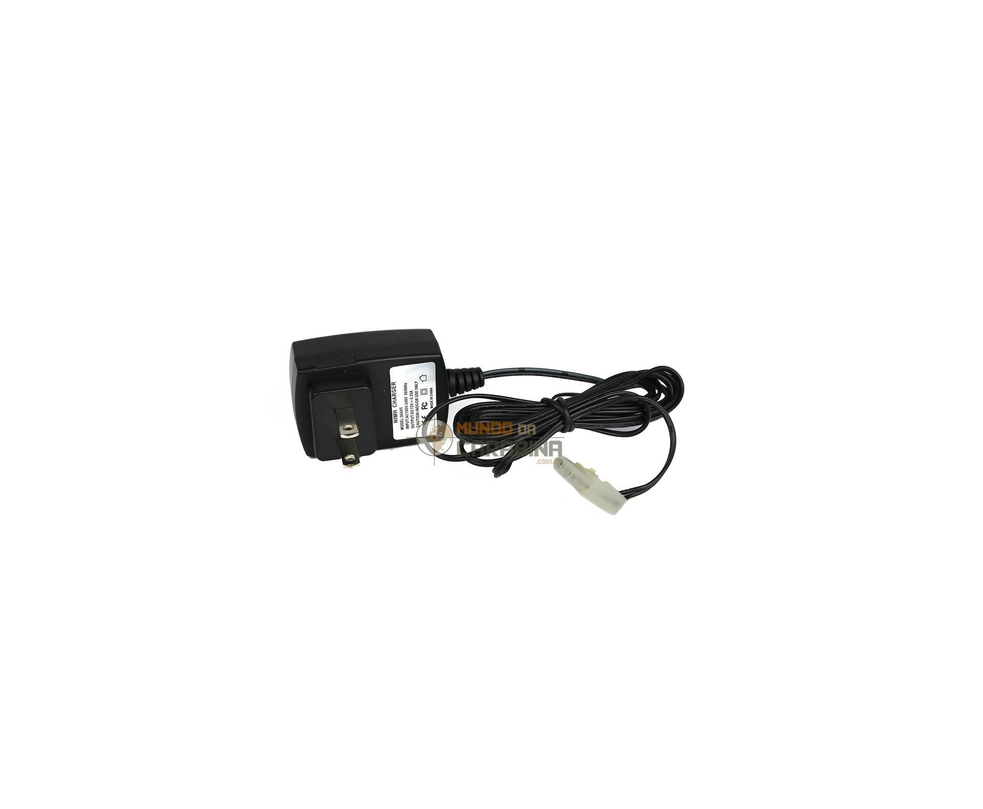 Carregador Para Bateria 110 V Para Airsoft - Pino Small Pequeno