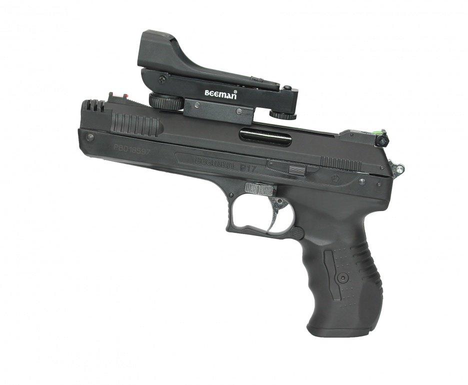 Pistola De Pressão Beeman 2006 P-17 Cal 5,5mm + Red Dot Rossi - Beeman