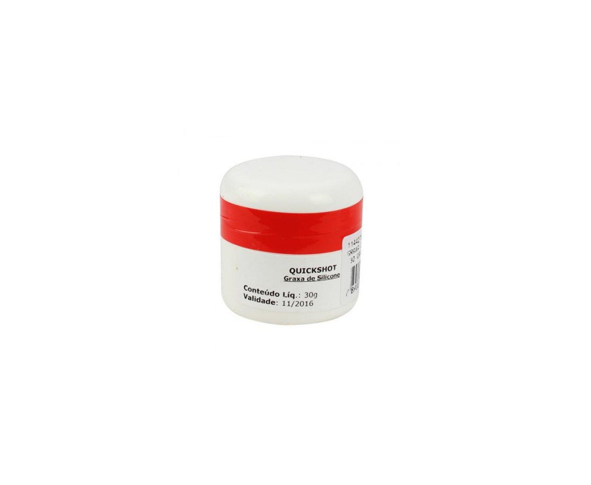 Graxa A Base De Silicone - 30g - Quickshot