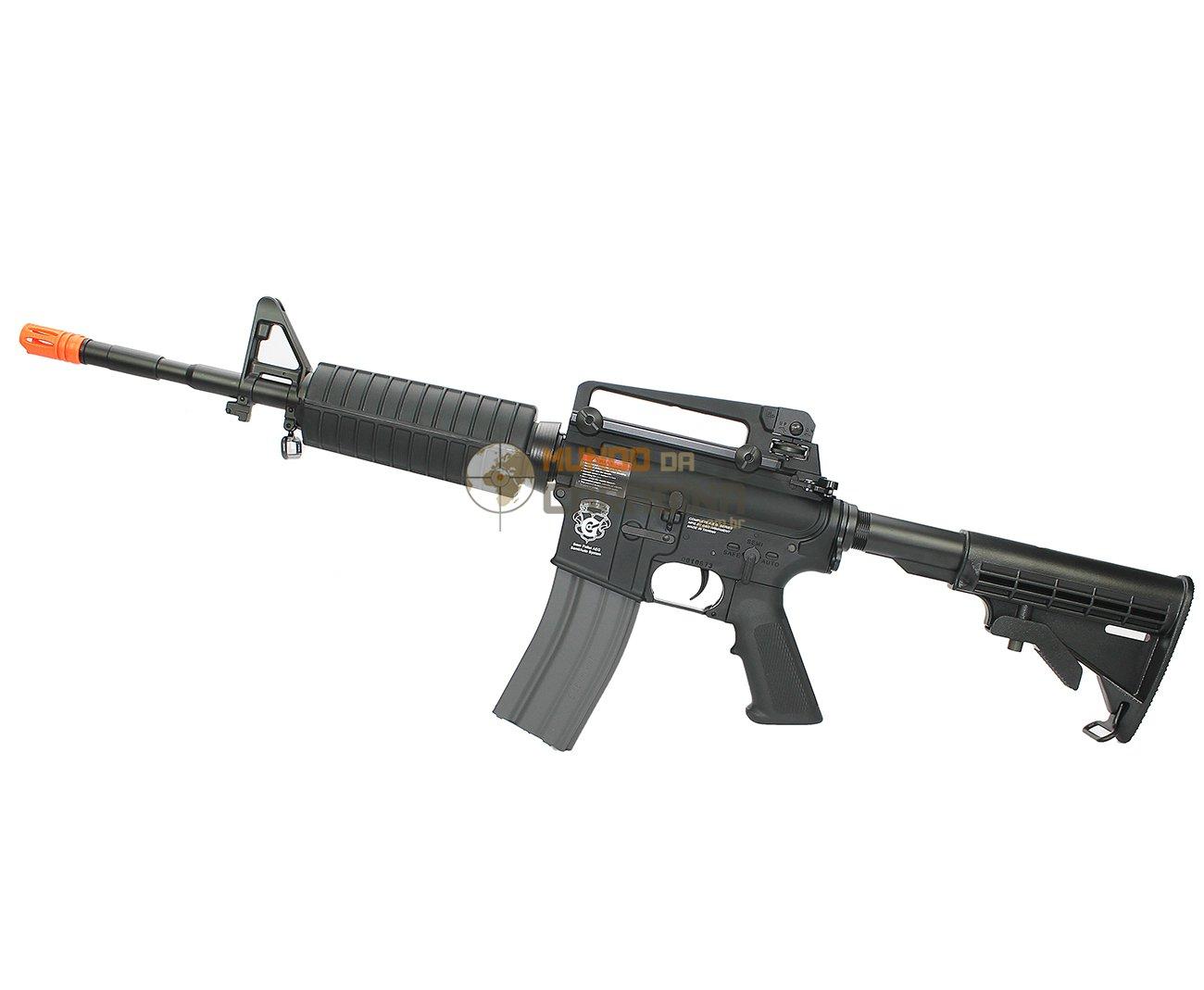 Rifle De Airsoft M4a1 Gr16 Blow Back Cal 6 Mm - G&g