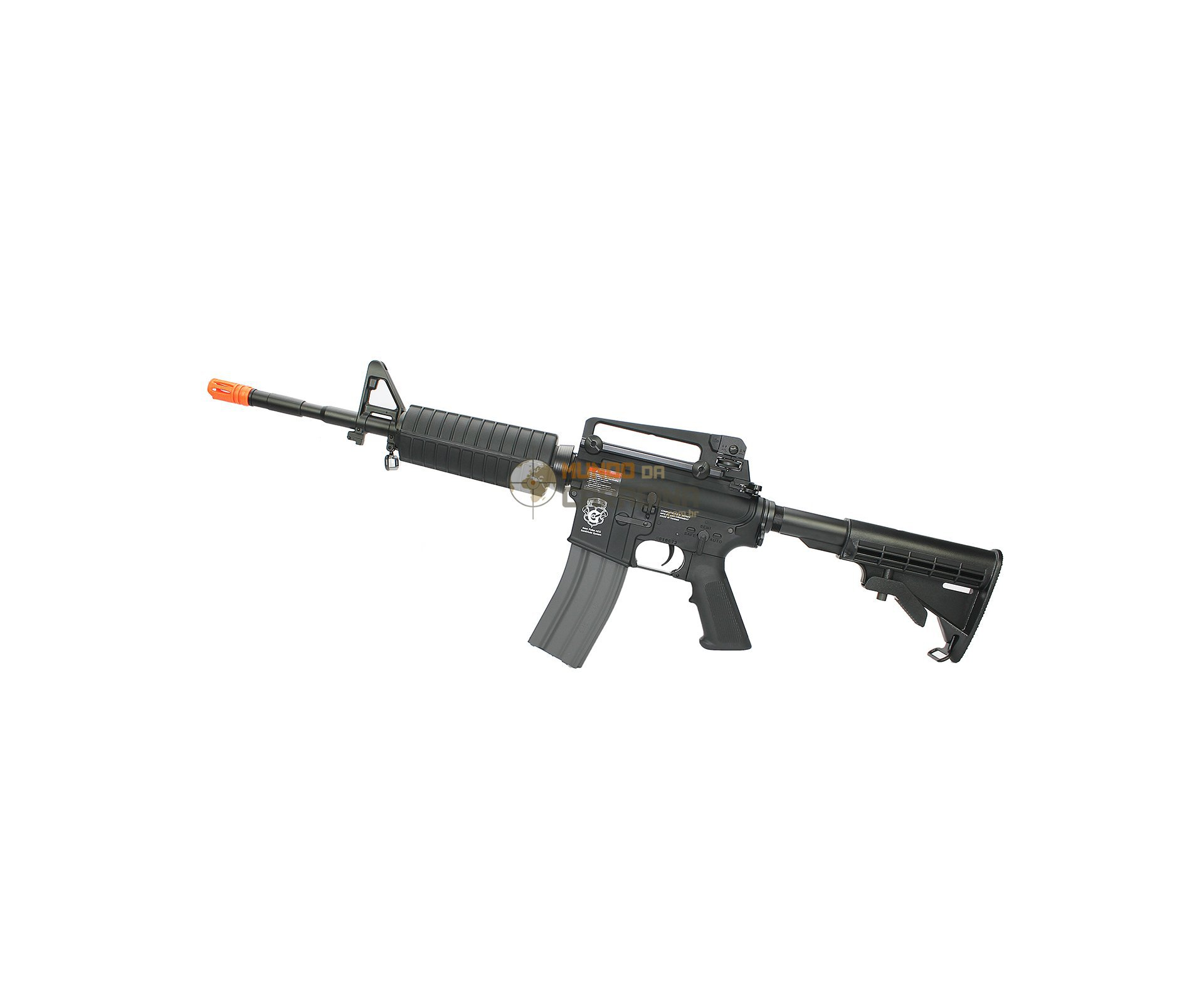 Rifle De Airsoft M4a1 Gr16 Blow Back Cal 6 Mm - G&g
