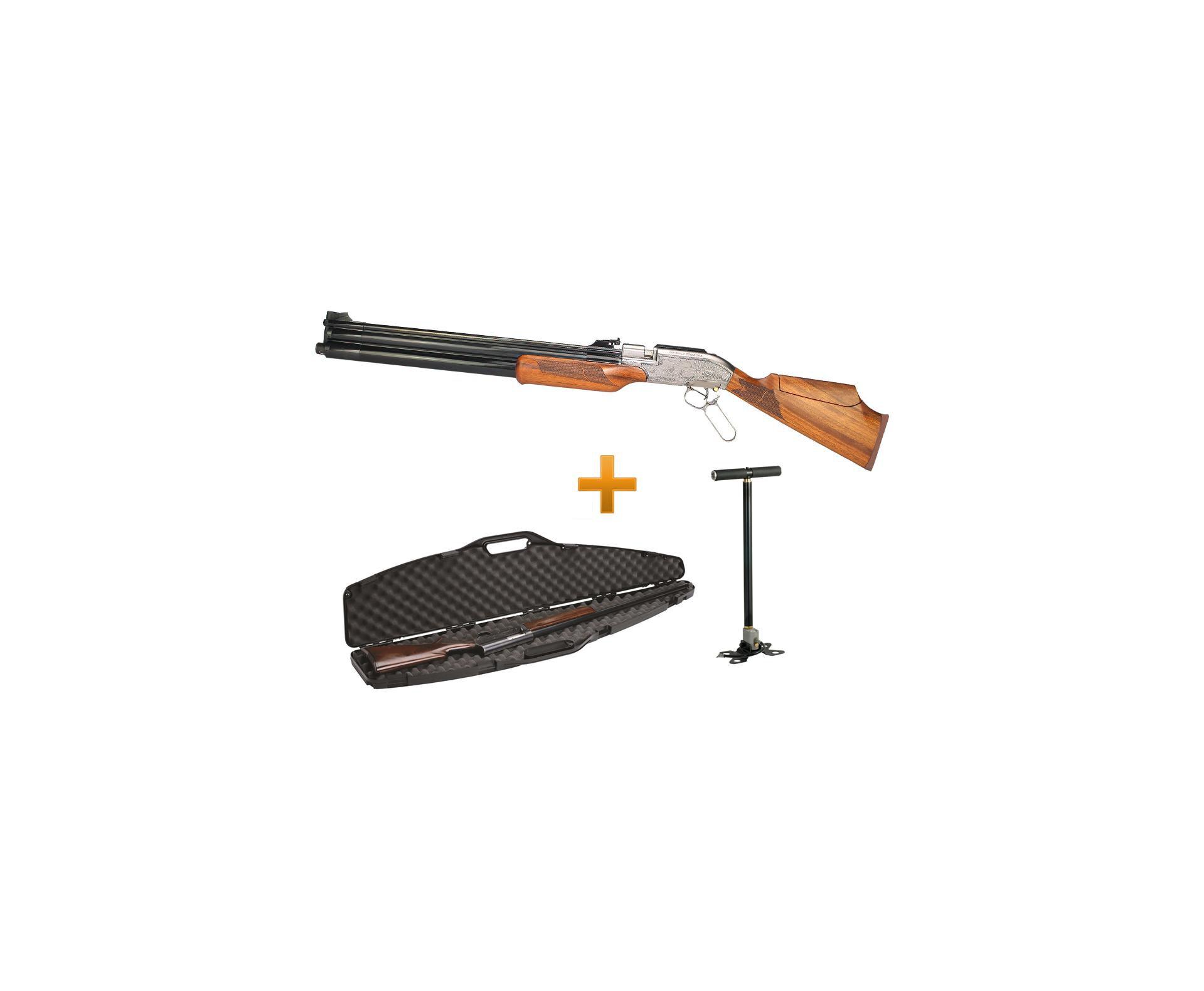 Carabina Pcp Sumatra 500 + Case + Bomba Pneumática