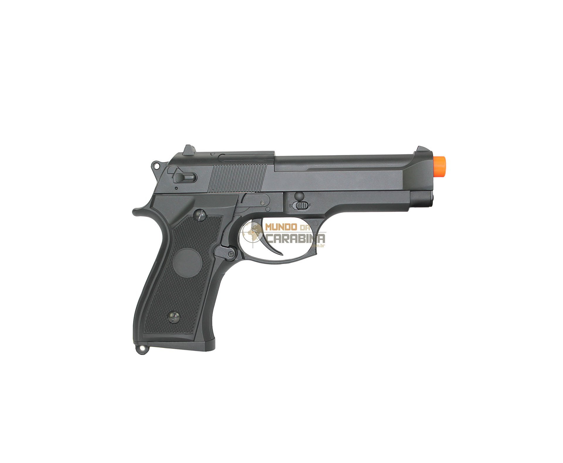 Pistola De Airsoft Bereta M92f Elet. Cm126 Cal 6 Mm Bivolt - Cyma