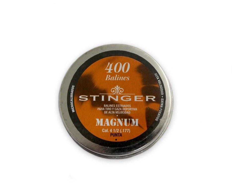 Chumbinhos Magnum Calibre 4,5 Mm - 400 Unidades - Stinger